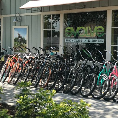 Outside Evolve Bicycles & E-Bikes