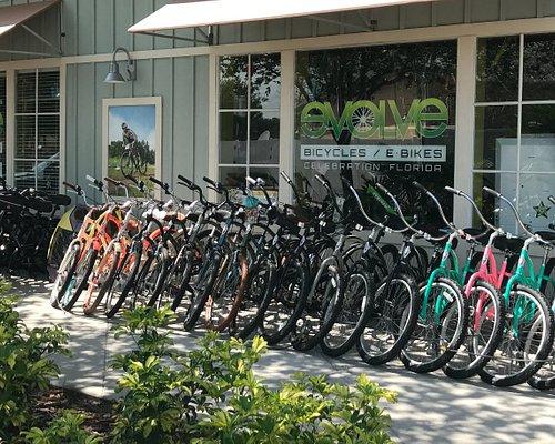 Outside Evolve Bicycles & E-Bikes