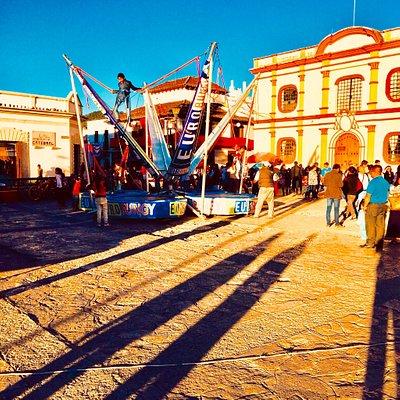 Agricultural Produce Market (Calle Dominguez) & Euro Bungy (Zócalo)