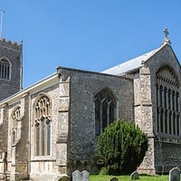 St Michael's Framlingham is open daily from 9am til 4pm and visitors are most welcome