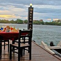 Pier Dining Romantic setup (Sunset)