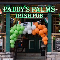 Paddy's Palms Irish Pub Main Entrance