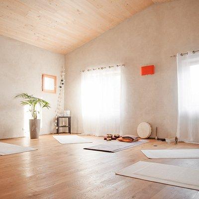 Notre salle de yoga