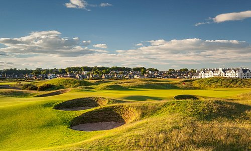 15th Hole of The Carnoustie Championship Course