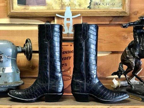 American Alligator Custom Boots