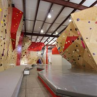 New boulder problems and routes going up every week.
