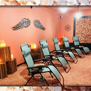 Relax in our Salt Sanctuary and see why everyone loves Halotherapy Sessions!