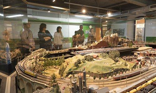 Ámbito Maqueta de tren. Foto: Jordi Puig