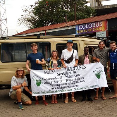 The Best Tour Company In Arusha [Book now}Ngaiza Adventures, Clients before their safari departu
