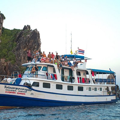 Similan diving Safaris Live-aboard Dolphin Queen