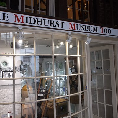 Museum Too includes a timeline of Midhurst from the Stone Age to today