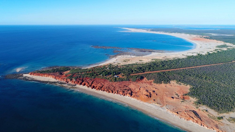 Cape Leveque from the air