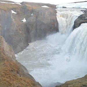 Kirkjufoss Waterfall