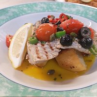 Tonno Alla Siciliana (From our 'Specials' menu).