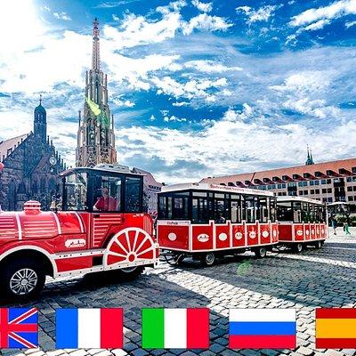Die City Tour ist in sieben Sprachen bei jeder Fahrt verfügbar