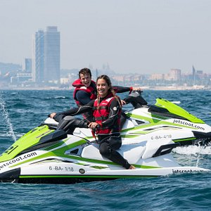 Jet Ski rental Barcelona for 1 or 2 people