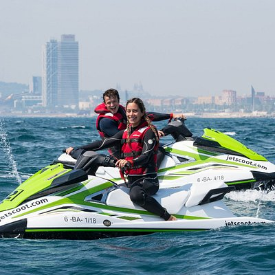 Jet Ski rental Barcelona for 1 or 2 people