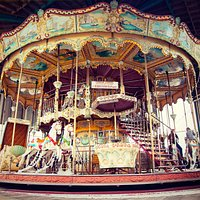 The beautiful Carousel ride