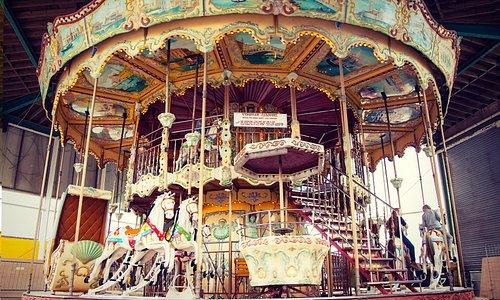 The beautiful Carousel ride