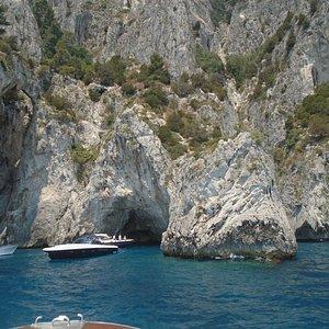 Gruta Branca, Ilha de Capri, Italia