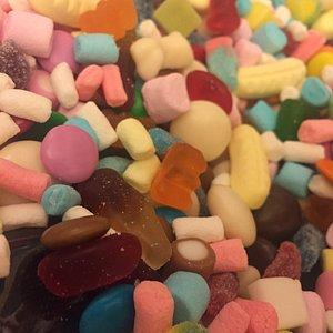 Yummy gift bag of sweets