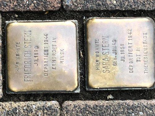 Stolpersteine in Gütersloh