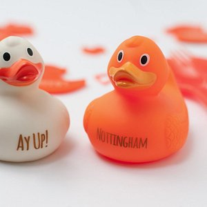 Personalised and engraved rubber Ducks.