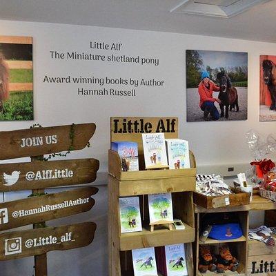 Little Alf shop in Leyburn market town