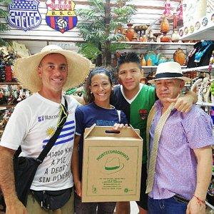 Desde la ciudad de Florida en Uruguay somos Victor y Maria en nuestro proyecto #americaando. Gra
