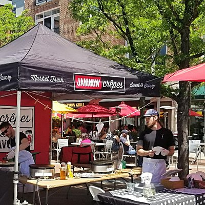 Princeton Farmers Market: Jammin Crepes -Best Spot for Lunch