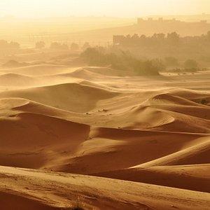Sahara Sunset near Merzouga