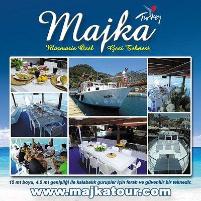 Majka Tour ile denizin ve koyların keyfini çıkarabileceğiniz değişik alternatiflerimiz vardır.