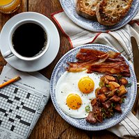 Eggs and Bacon - Photo by Dominic Episcopo