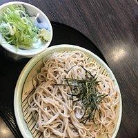 はじめての訪問。お客様と二人で訪問。流石京都のそば。大変美味しくいただきました(^^)