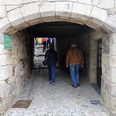 Arco de acesso à rua