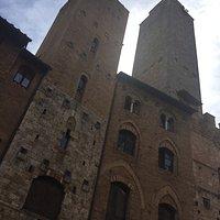 middeleeuwse wolkenkrabbers