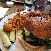 yummy Spicy Guac Burger