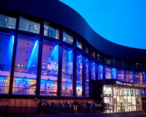 La façade du TNB © Christian Berthelot