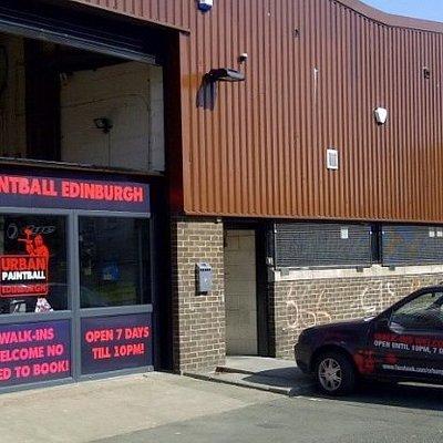Welcome To Indoor Paintball Edinburgh