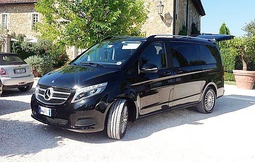 Minivan Mercedes Klass V
