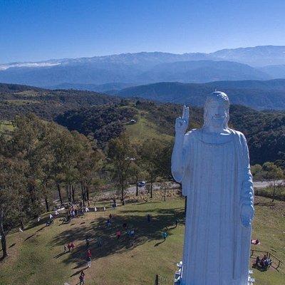 El Cristo Bendicente de San Javier, parada obligada en Tucumán.