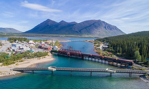 The view from Keno Hill in Keno, Yukon