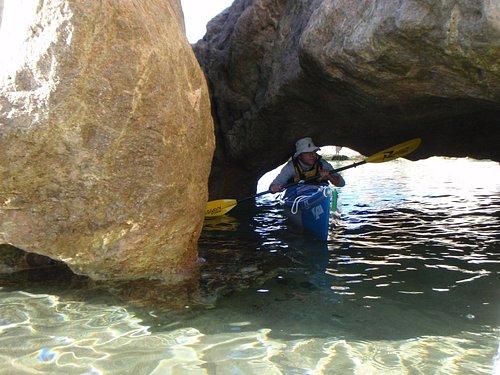 Grotte de Vetricella et eaux translucides