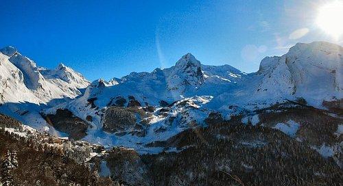 Le cirque de Gourette au cœur des Pyrénées