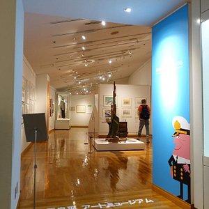 柳原良平アートミュージアム(横浜みなと博物館に併設)