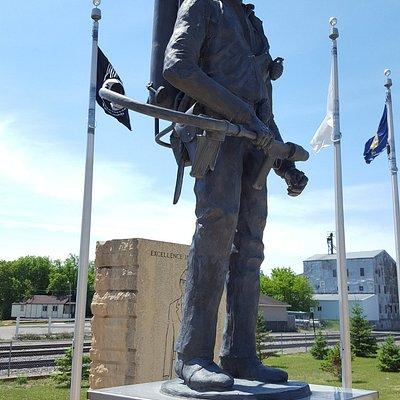 US Marine Chuck Lingerg