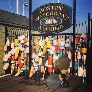 Boston Waterboat Marina fishing floats