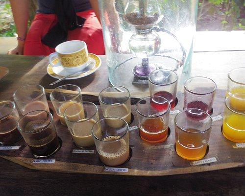 Tasting selection at Alam Sari Agrotourism