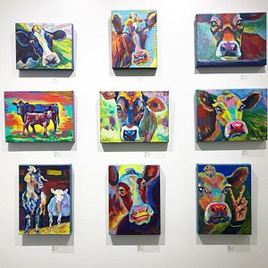 Currently showing in gallery, June 2018