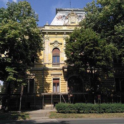 Kronich Palace, main facade